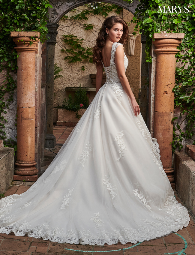 SAND Color Couture Damour Bridal Dresses - Style - MB4036