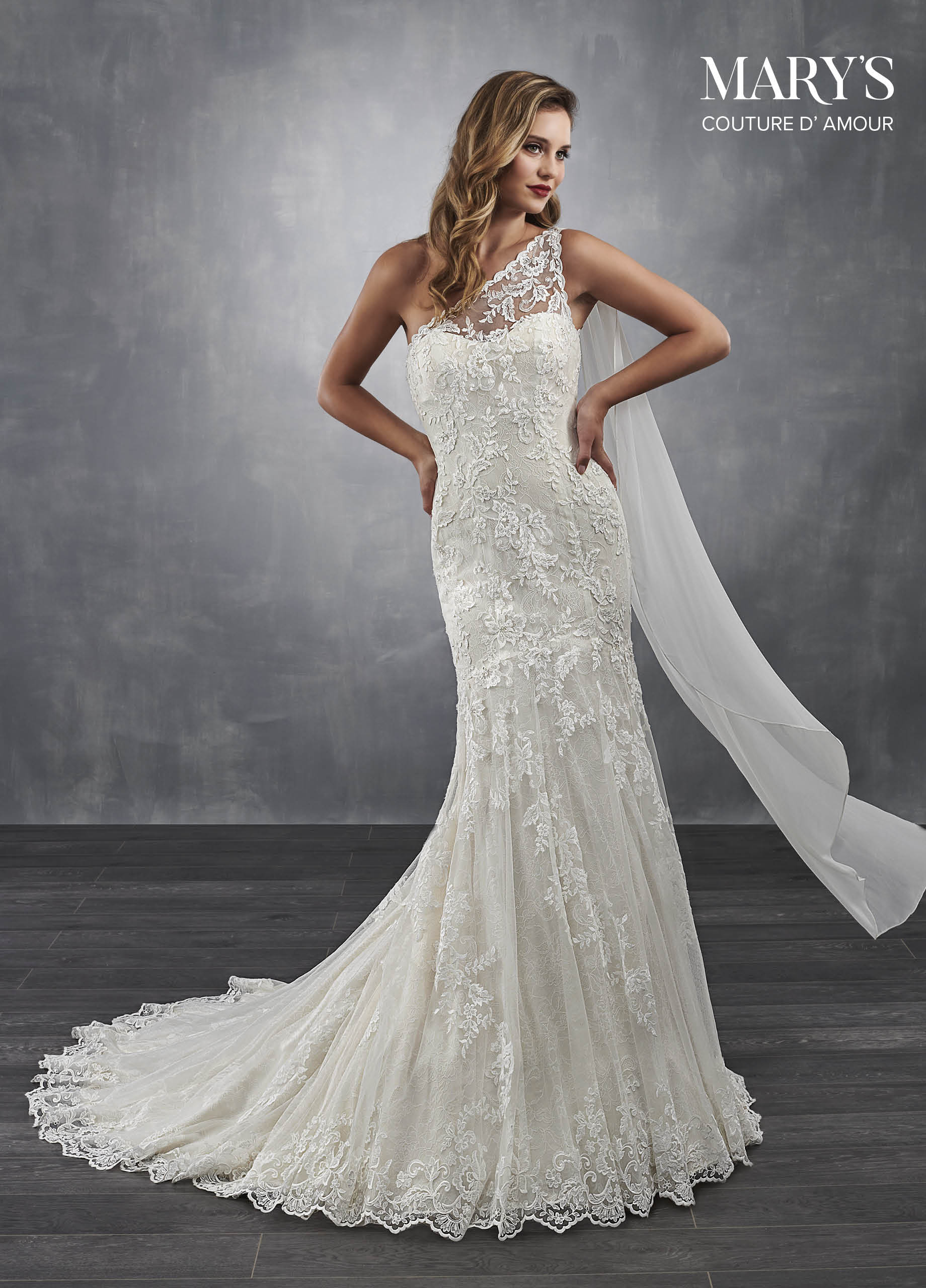 Couture Damour Bridal Dresses Style Mb4043 In Ivory