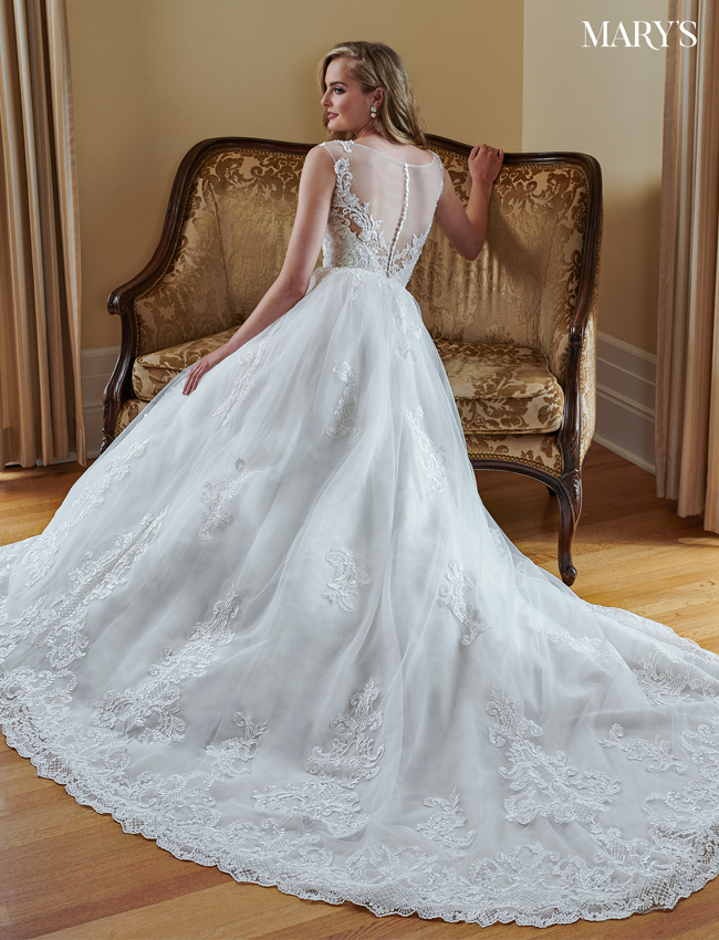 Ivory Color Couture Damour Bridal Dresses - Style - MB4049