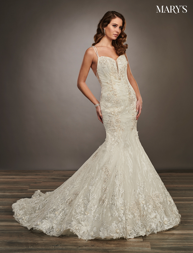 Ivory Color Couture Damour Bridal Dresses - Style - MB4061