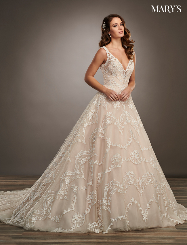 SAND Color Couture Damour Bridal Dresses - Style - MB4064