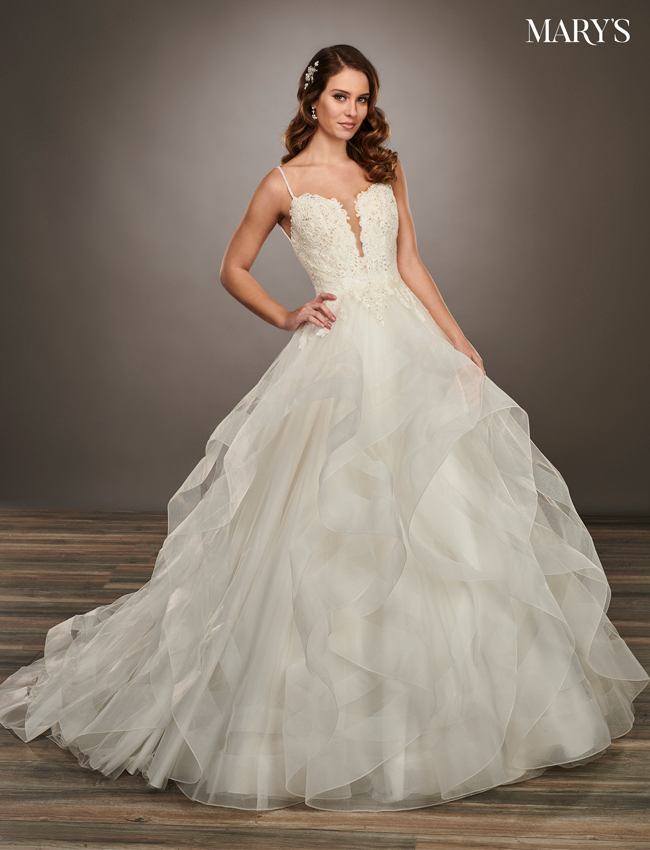 Ivory Color Couture Damour Bridal Dresses - Style - MB4068