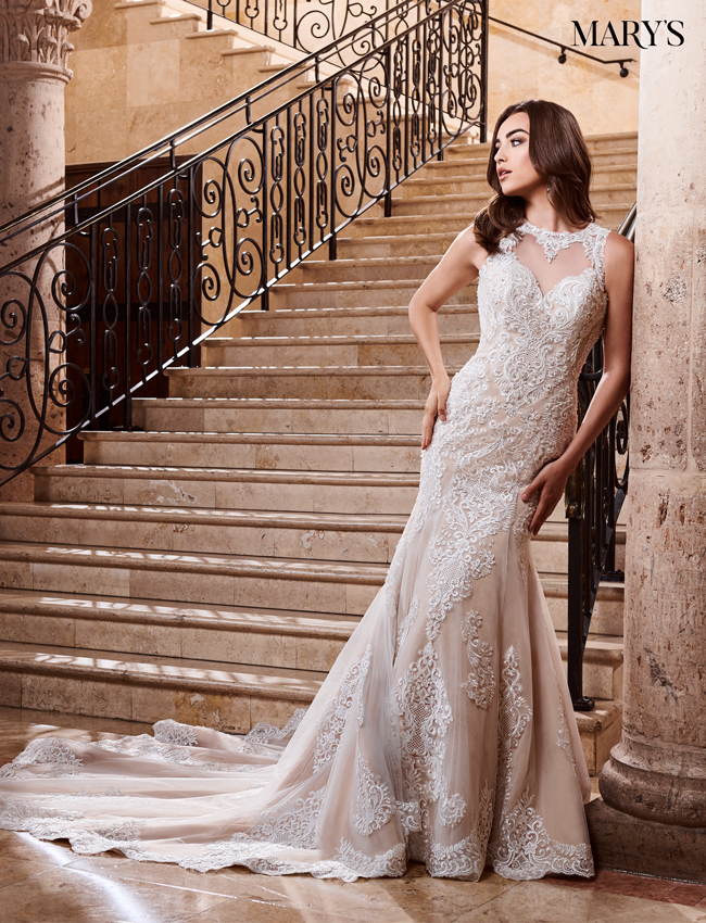 Nude Color Couture Damour Bridal Dresses - Style - MB4069