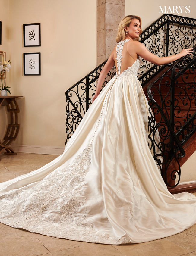 Ivory Color Couture Damour Bridal Dresses - Style - MB4084