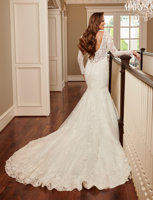 Ivory Color Couture Damour Bridal Dresses - Style - MB4093
