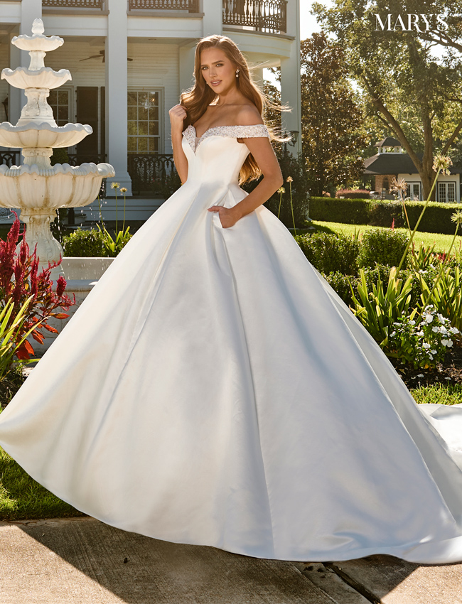 Ivory Color Couture Damour Bridal Dresses - Style - MB4094