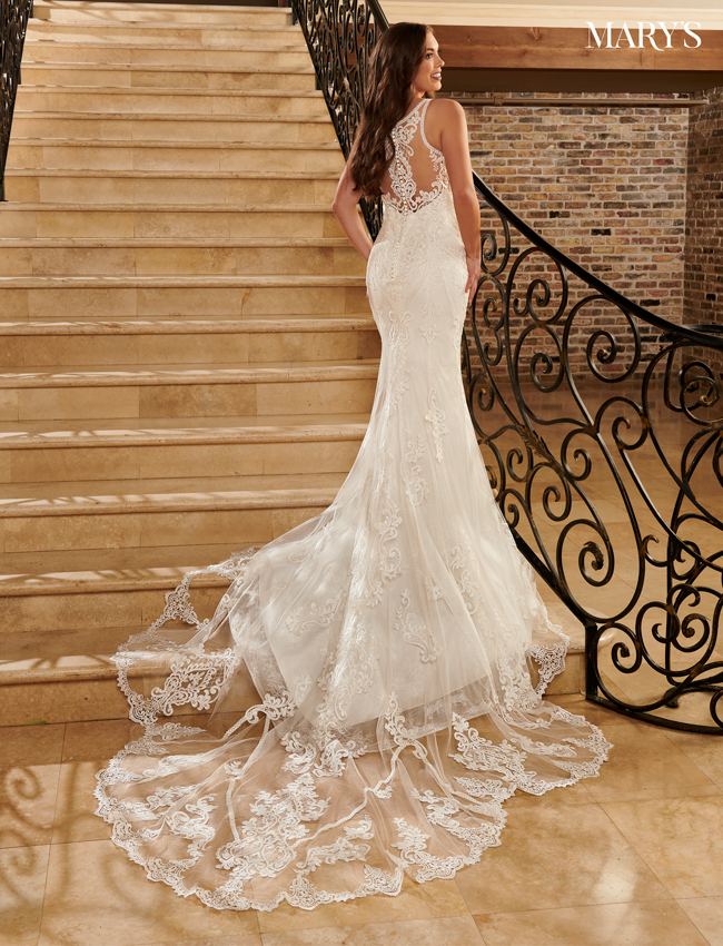 Ivory Color Couture Damour Bridal Dresses - Style - MB4099