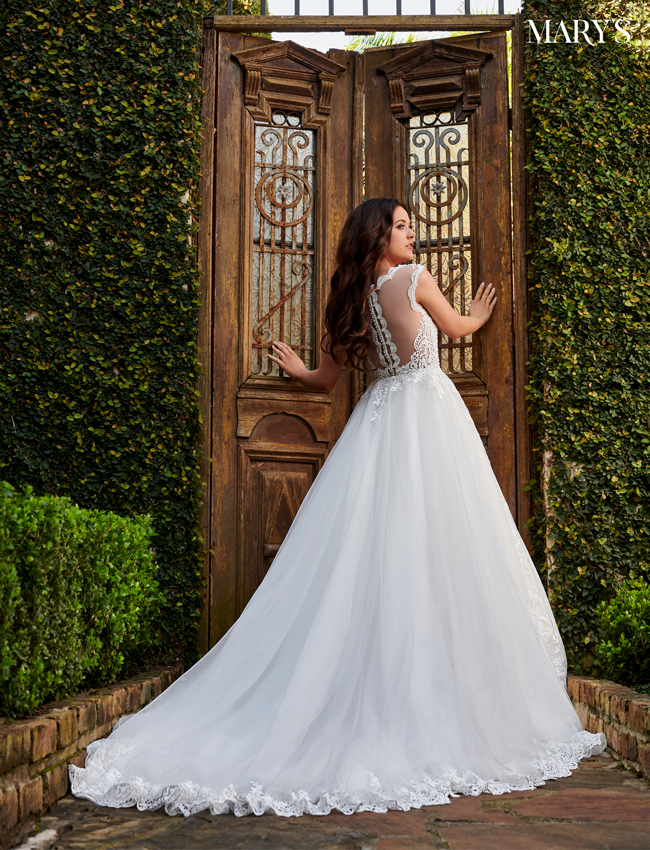 Ivory Color Couture Damour Bridal Dresses - Style - MB4101