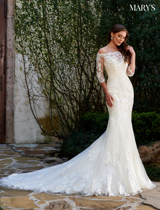 Ivory Color Couture Damour Bridal Dresses - Style - MB4106