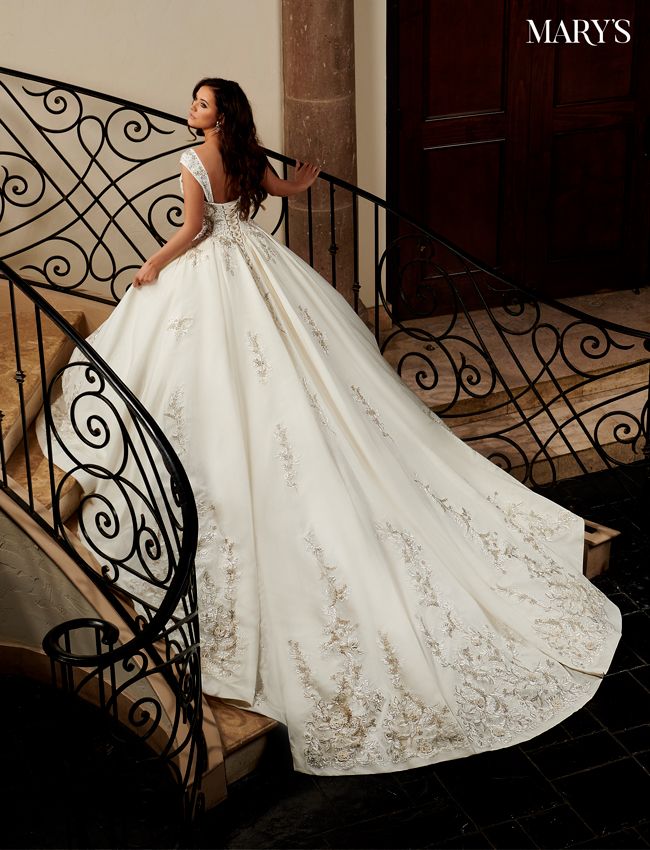 Ivory Color Couture Damour Bridal Dresses - Style - MB4107