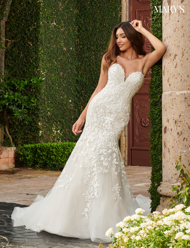Blush Color Couture Damour Bridal Dresses - Style - MB4108