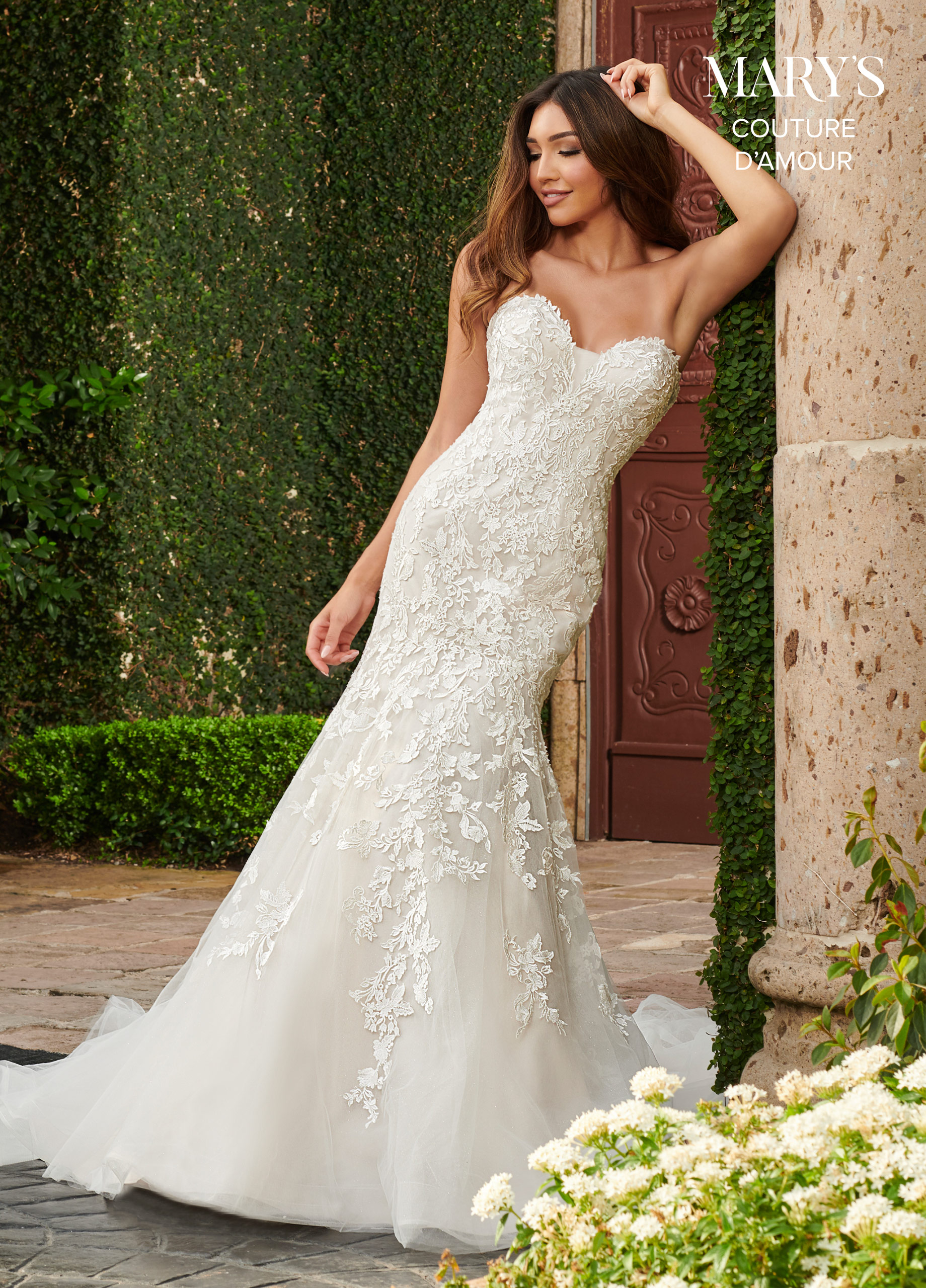 Couture Damour Bridal Dresses | Style - MB4108 in Ivory ...
