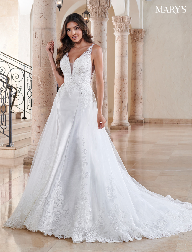 Ivory Color Couture Damour Bridal Dresses - Style - MB4109