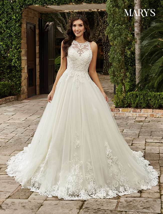 Ivory Color Couture Damour Bridal Dresses - Style - MB4110