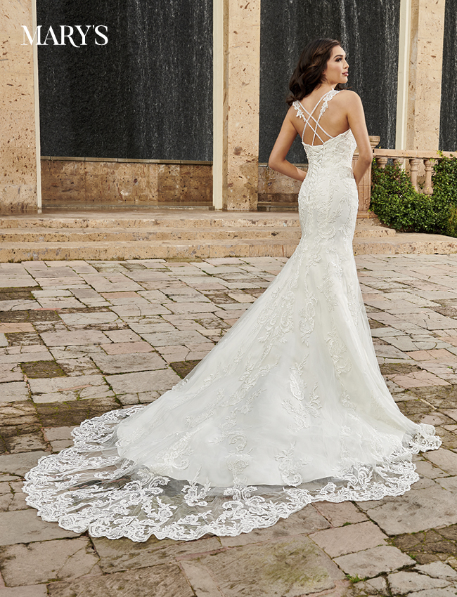 Ivory Color Couture Damour Bridal Dresses - Style - MB4111