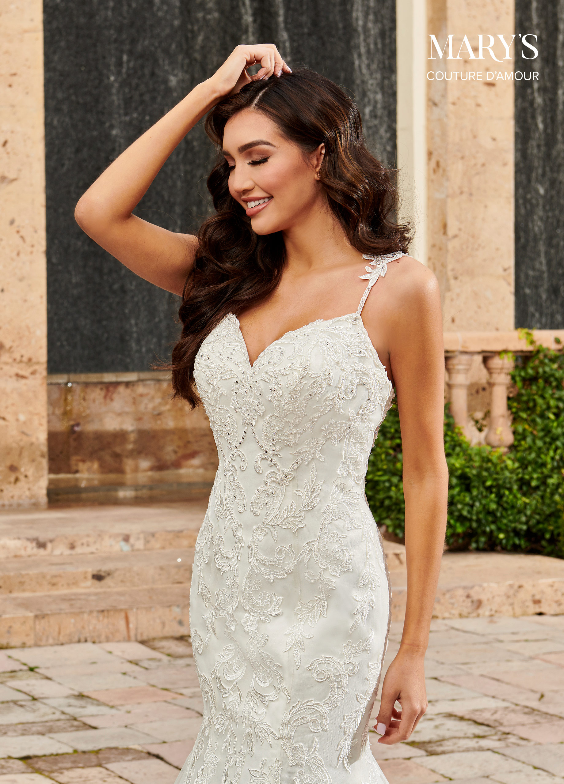 Couture Damour Bridal Dresses | Style - MB4111 in Ivory ...