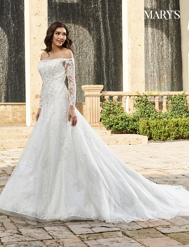Ivory Color Couture Damour Bridal Dresses - Style - MB4112