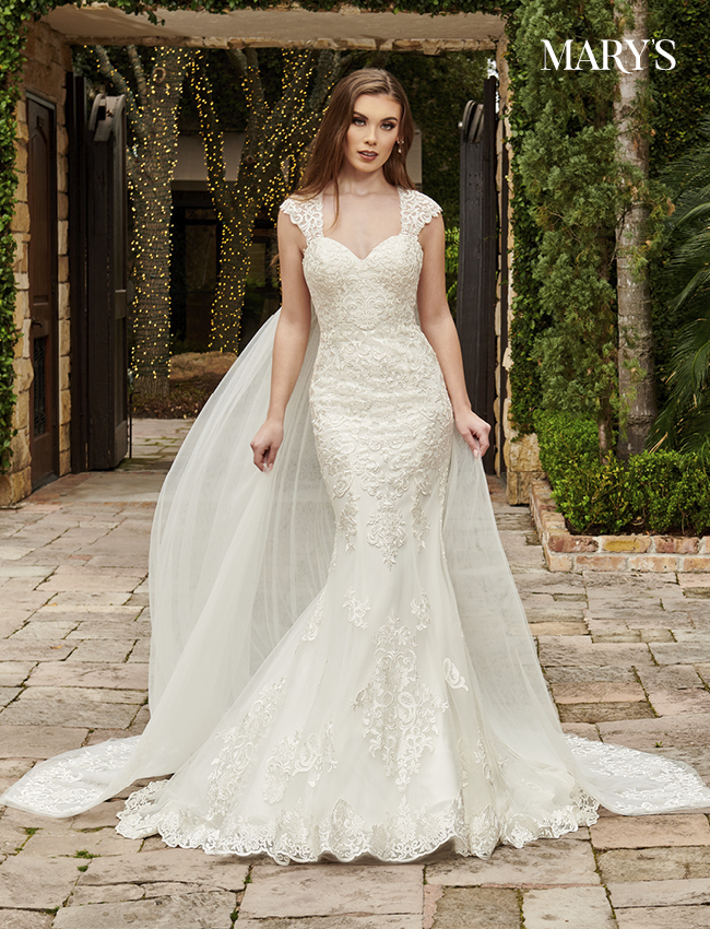 Ivory Color Couture Damour Bridal Dresses - Style - MB4113