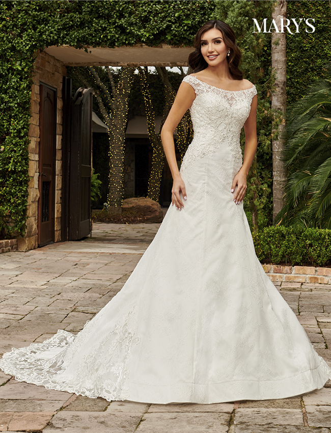 Ivory Color Couture Damour Bridal Dresses - Style - MB4114