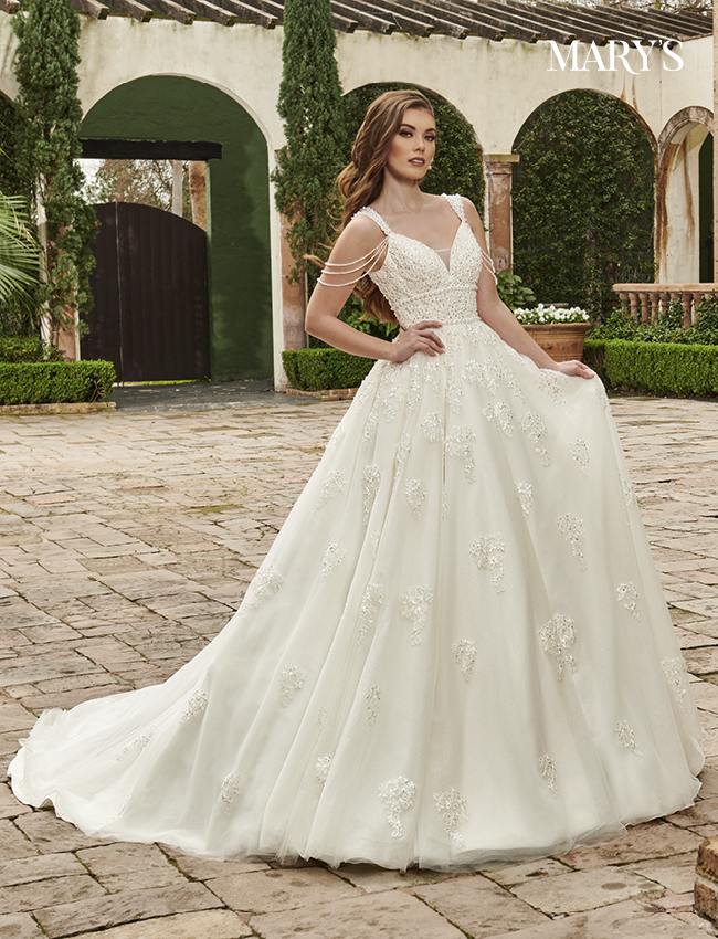 Ivory Color Couture Damour Bridal Dresses - Style - MB4115