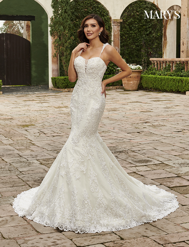 Ivory Color Couture Damour Bridal Dresses - Style - MB4116
