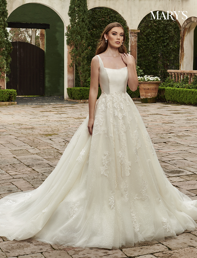 Ivory Color Couture Damour Bridal Dresses - Style - MB4117