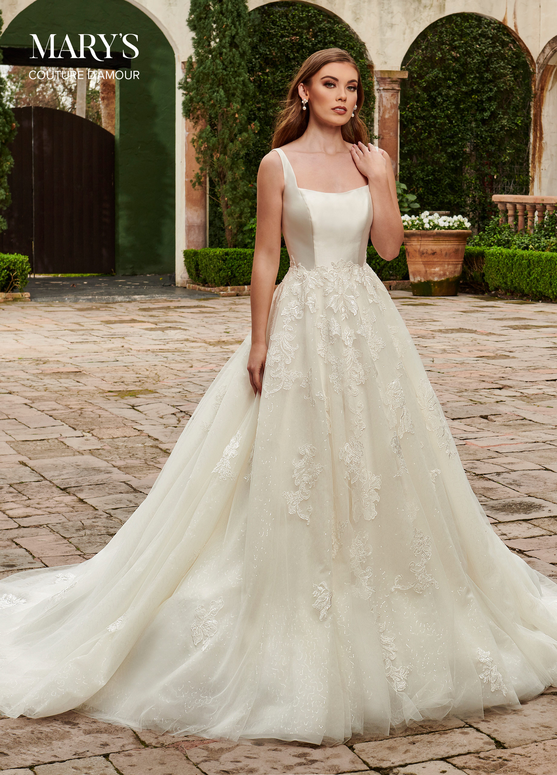 Couture Damour Bridal Dresses | Style - MB4117 in Ivory ...