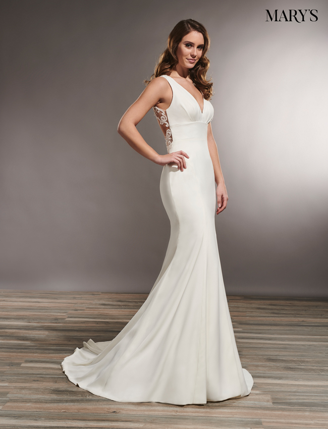 Ivory Color Wedding Dresses - Style - MB5010
