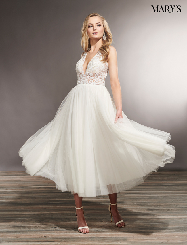 Nude Color Wedding Dresses - Style - MB5011