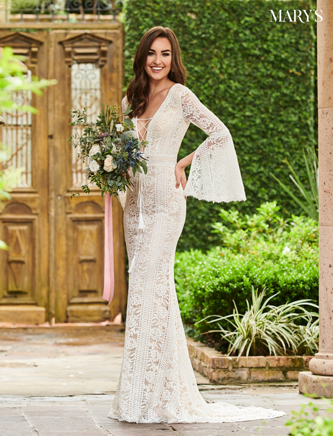Nude Color Wedding Dresses - Style - MB5014