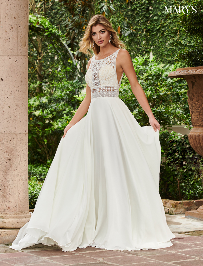 Color Wedding Dresses - Style - MB5015