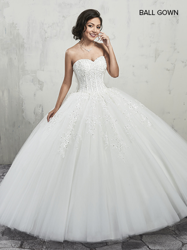 Color Bridal Ball Gowns - Style - MB6001