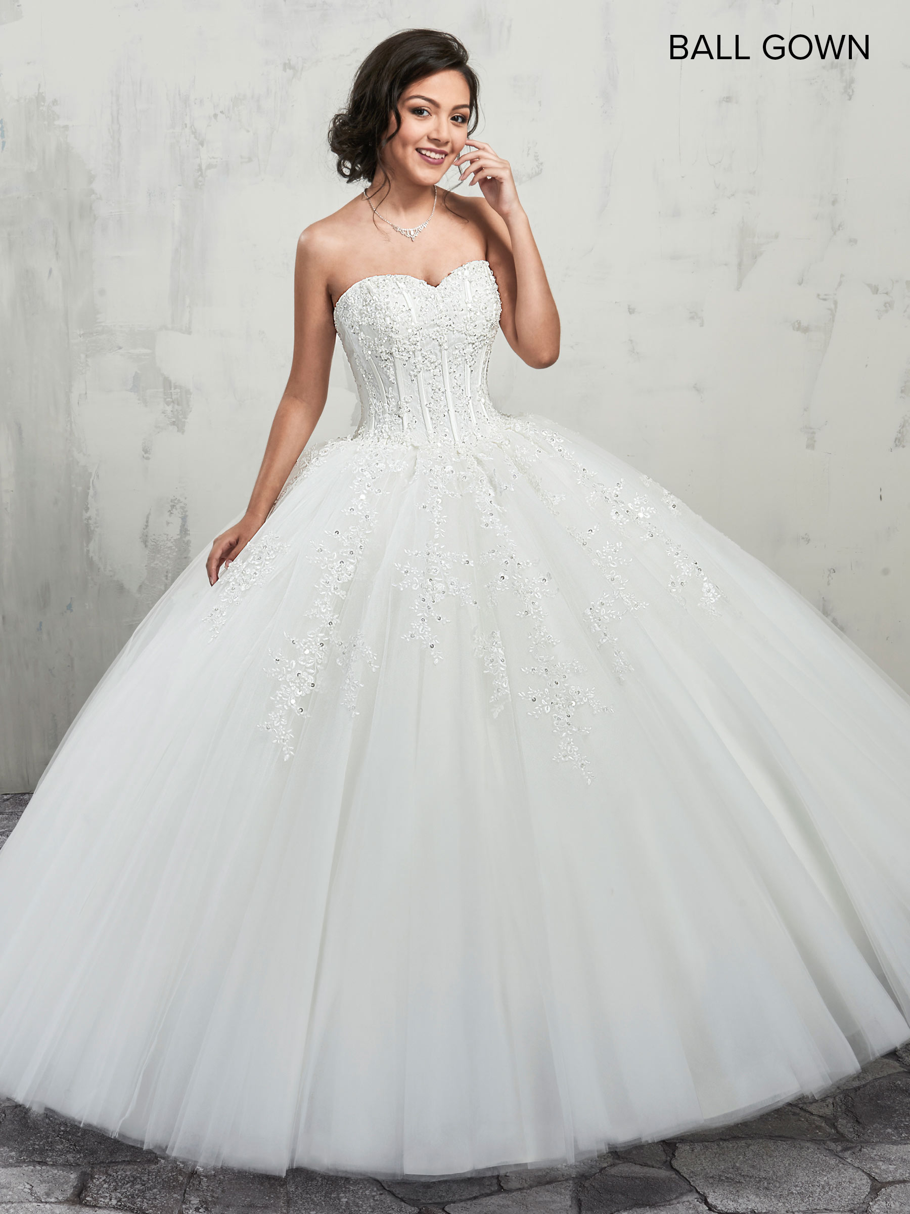 Bridal Ball Gowns Style Mb6001 In Ivory Or White Color