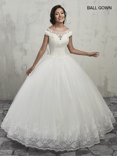 Color Bridal Ball Gowns - Style - MB6002