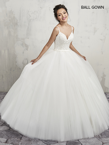 Color Bridal Ball Gowns - Style - MB6003