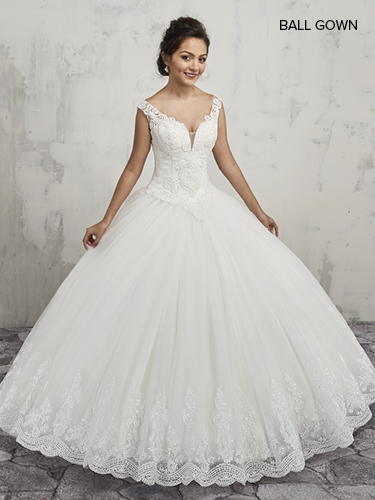 Color Bridal Ball Gowns - Style - MB6004