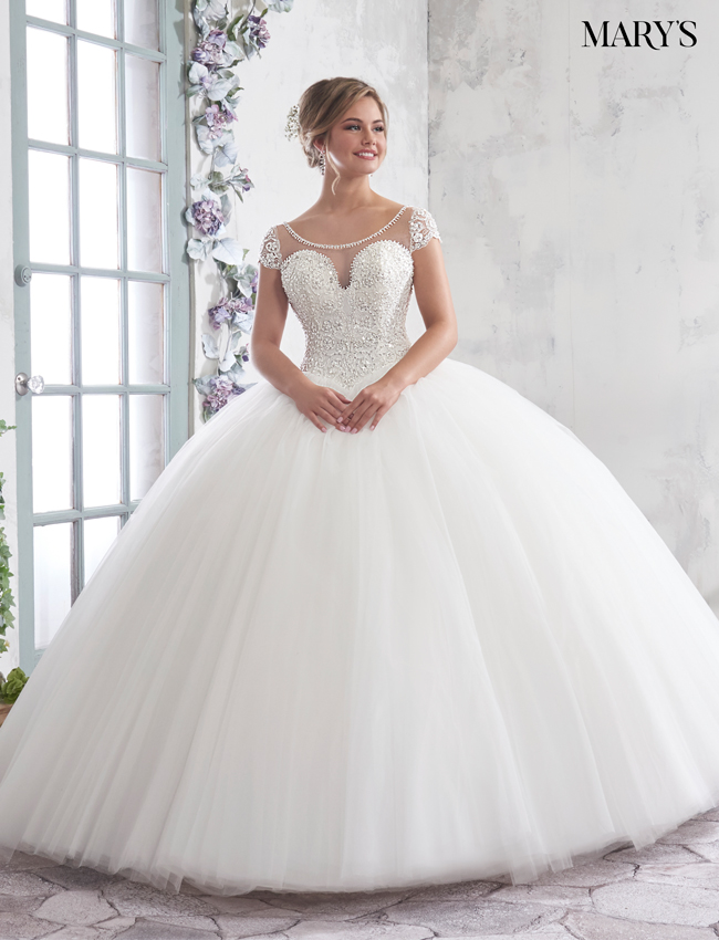 Color Bridal Ball Gowns - Style - MB6005