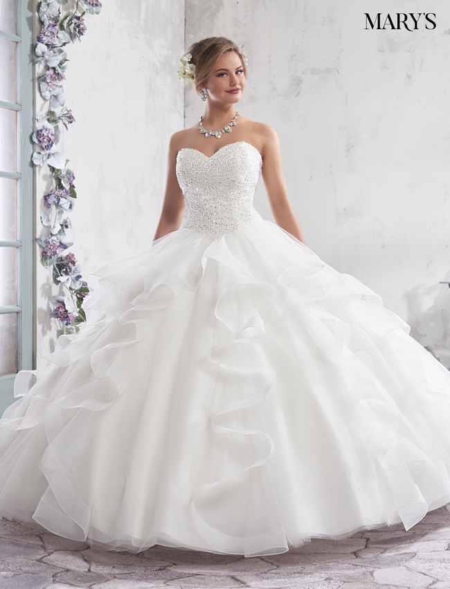 Color Bridal Ball Gowns - Style - MB6007