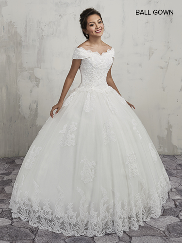 Color Bridal Ball Gowns - Style - MB6008