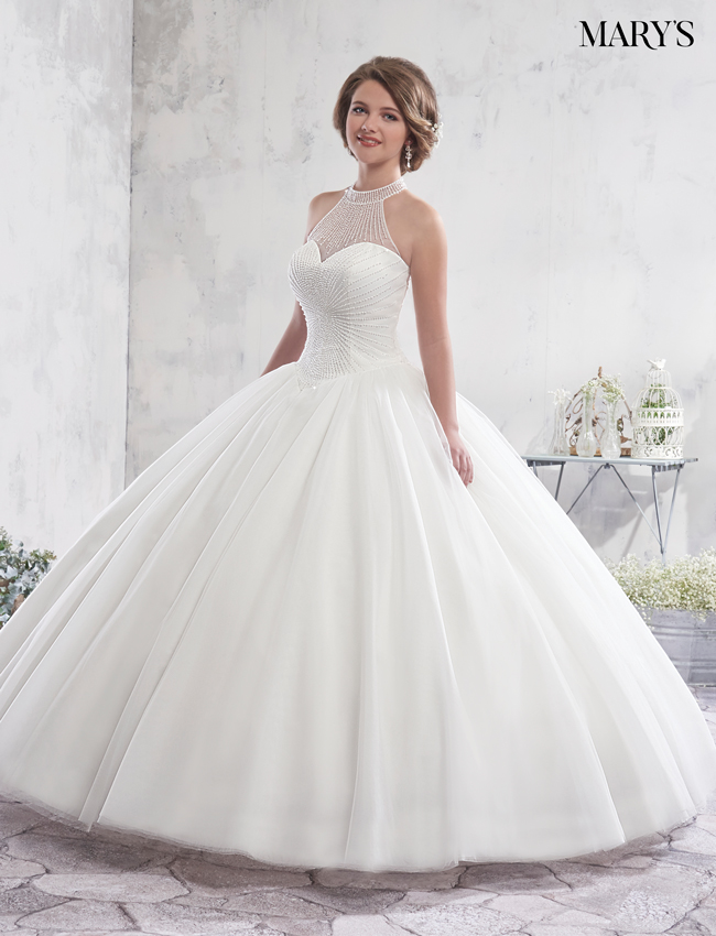 Color Bridal Ball Gowns - Style - MB6009
