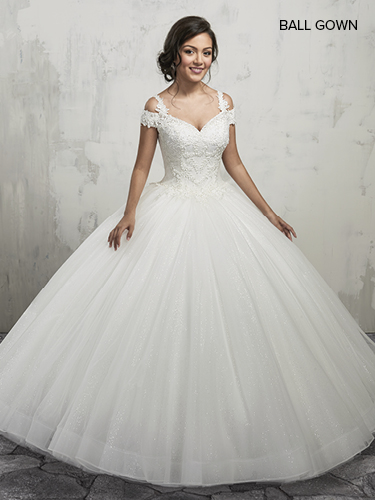 Color Bridal Ball Gowns - Style - MB6011