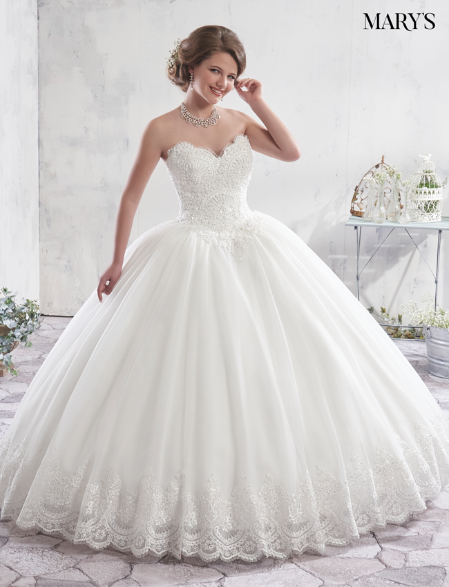 Color Bridal Ball Gowns - Style - MB6012