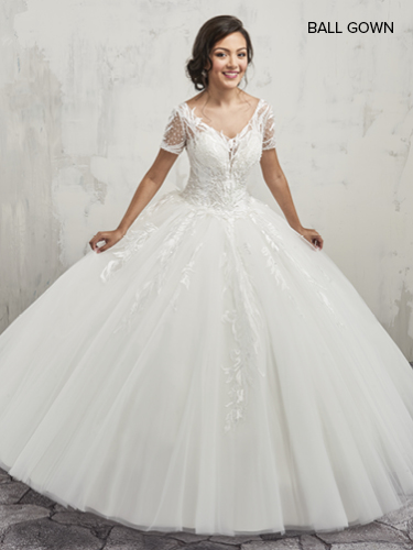 Color Bridal Ball Gowns - Style - MB6013