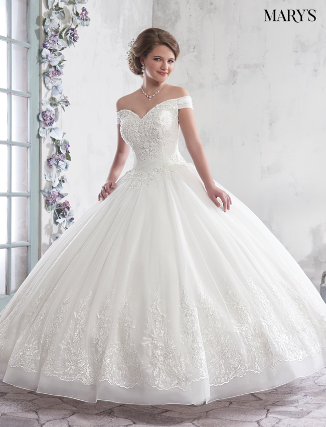 Color Bridal Ball Gowns - Style - MB6014