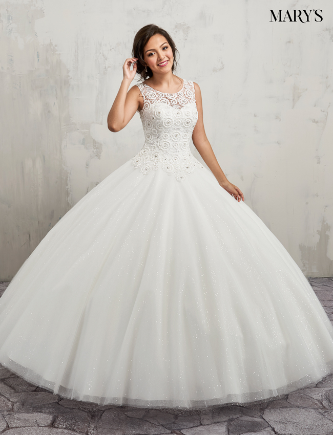 Color Bridal Ball Gowns - Style - MB6015