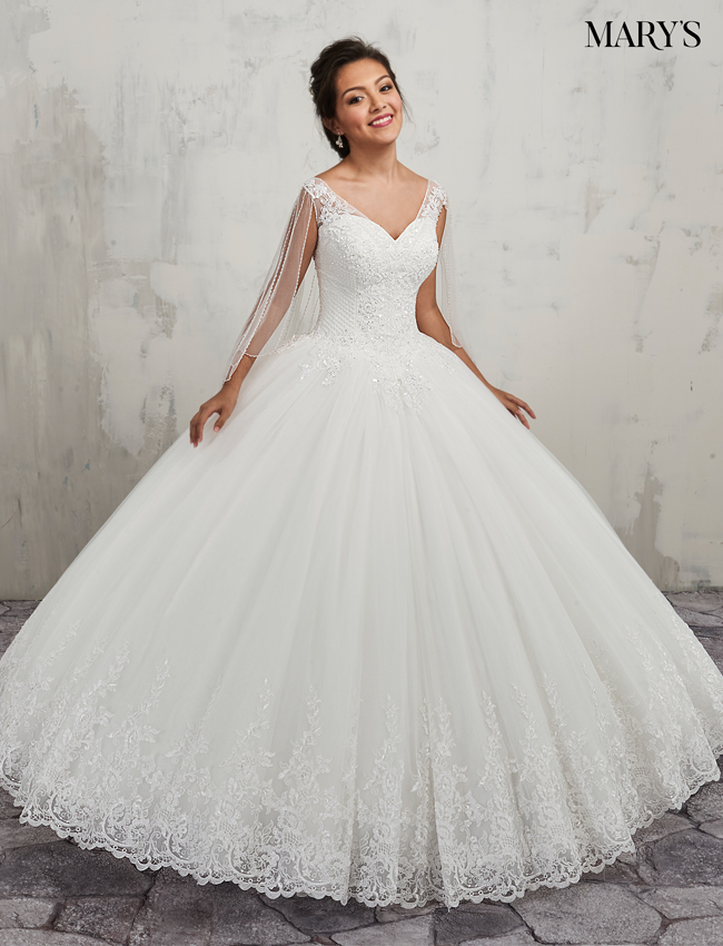 Color Bridal Ball Gowns - Style - MB6016