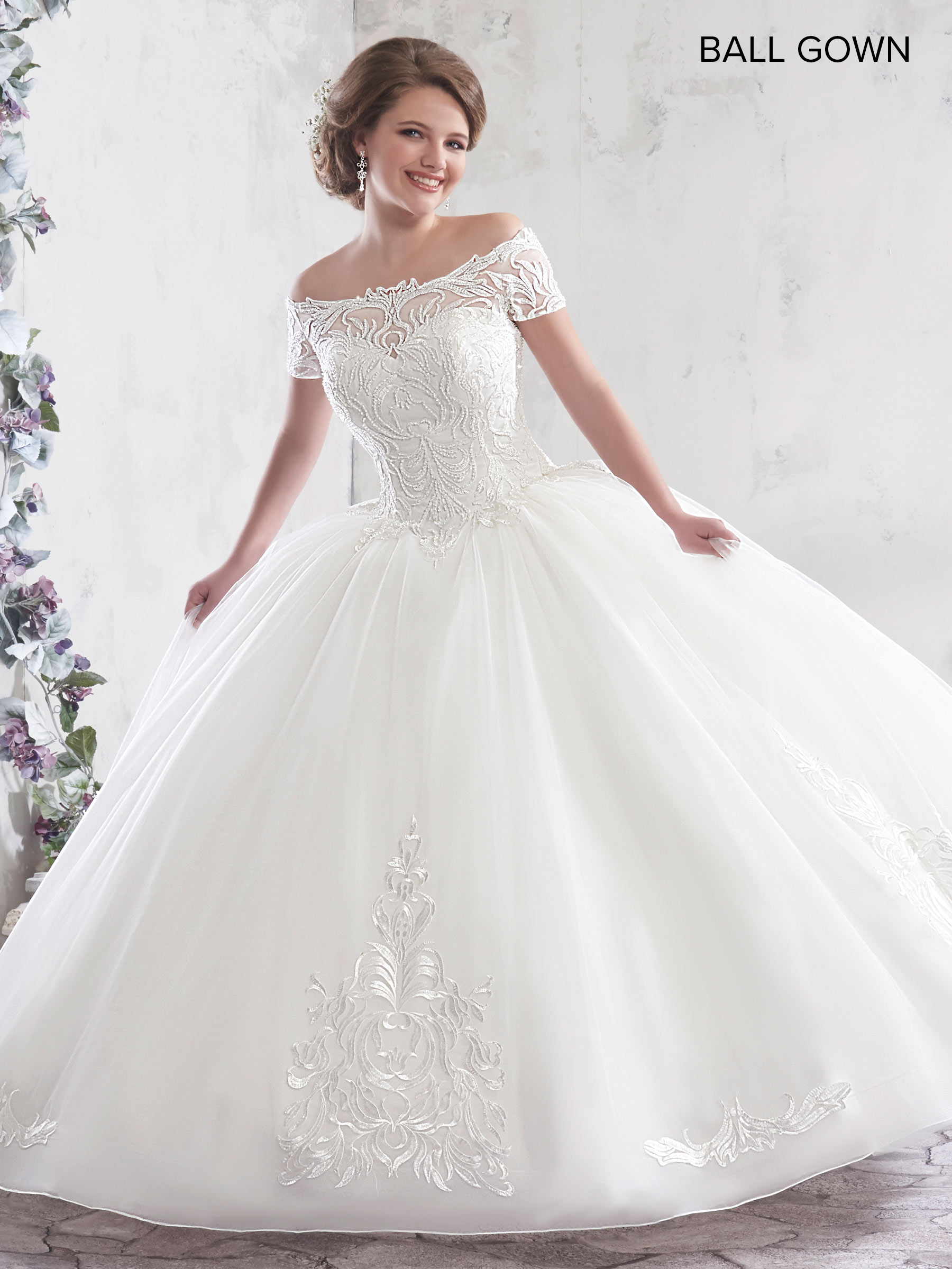 Bridal Ball Gowns | Ball Gowns | Style - MB6017