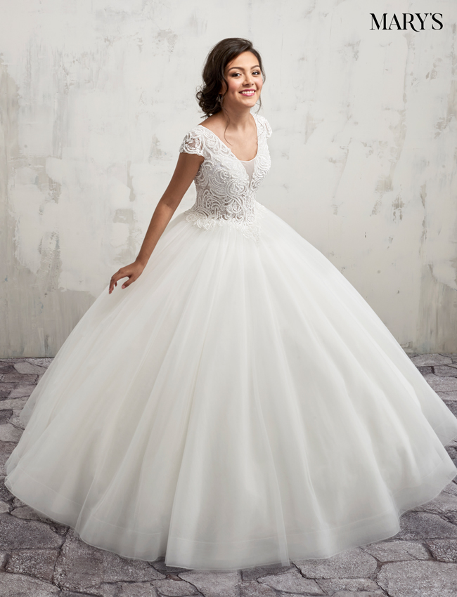 Color Bridal Ball Gowns - Style - MB6018