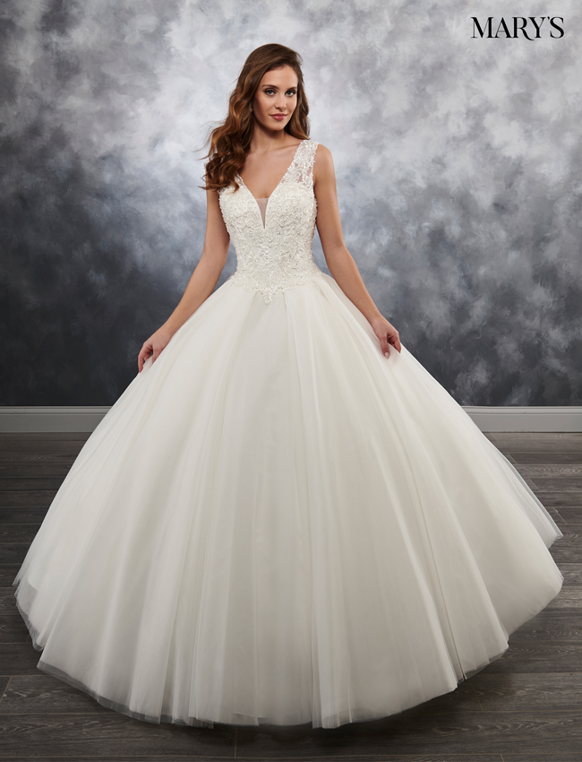 Color Bridal Ball Gowns - Style - MB6023