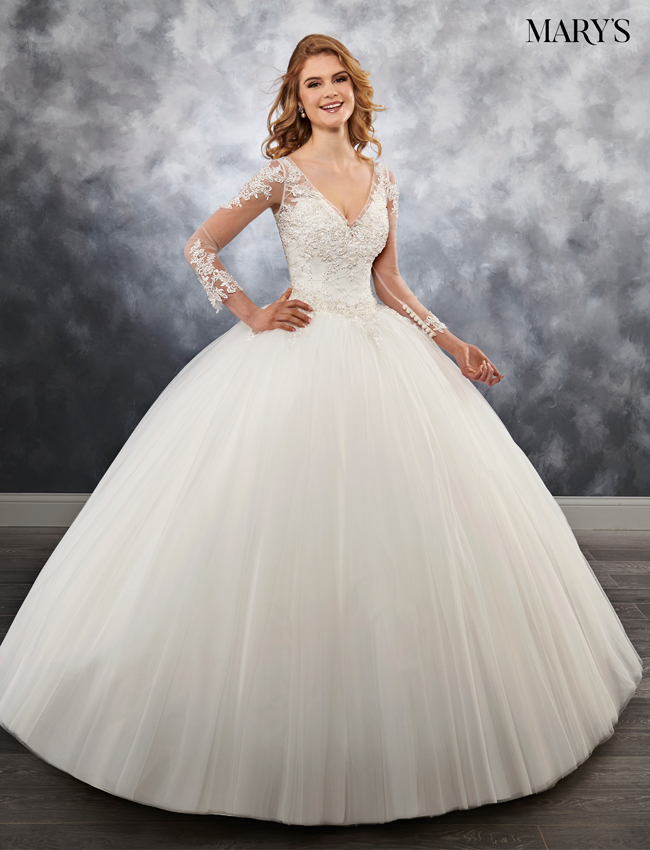 Color Bridal Ball Gowns - Style - MB6030